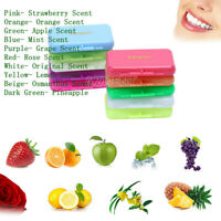 10X Dental Ortho Wax comes with Different Pleasant Flavors 5 pcs/pack 10 Scent