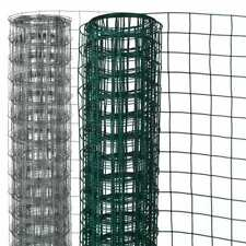 More details for nature wire mesh square fence aviary enclosure cage green/grey 0.5x5m/1x5m