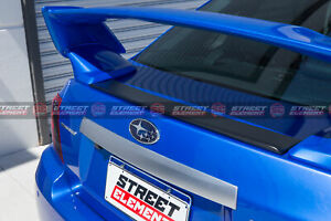 Cover Plate For 2008-2013 Subaru WRX G3 S-T Trunk Wing Spoiler (UNPAINTED)