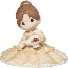 $ New PRECIOUS MOMENTS DISNEY Figurine BEAUTY BEAST BELLE Mrs Potts & Chip TEA