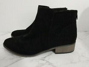 Naughty Monkey Size 7 Black Ankle Boots Excellent Condition