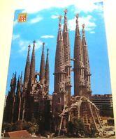Spain Barcelona temple de la Sagrada Familia 392 - posted 1983