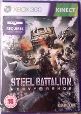 "JEU XBOX 360 ""STEEL BATTALION"" Heavy Armor (Action-Futuriste) NEUF SOUS BLISTER"