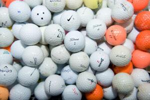 50 Titleist, NIKE, Callaway, Pro V1, Mixed Brand Golf Balls # Clearance SALE #
