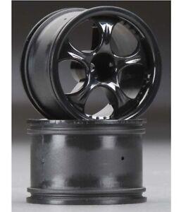 NEW HPI Brama 18B Flare Rear Wheel Black (2) 103081