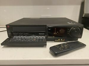 Panasonic AG-1980 S-VHS SVHS Super VHS Player Recorder PRO Editing See Descriptn