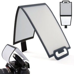 Soft Screen Flash Diffuser for Built-in Pop-Up Flash of Canon Nikon Sony Camaras