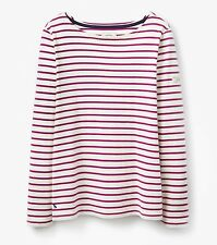 Joules Waist Length Casual Striped Tops & Shirts for Women