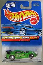 Hot Wheels 1:64 Scale 1998 X-treme Speed Series CALLAWAY C7 (5 SPOKES)