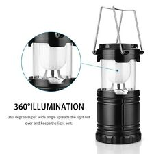 Cool LED Lantern 3 AA 1.5V Batteries Outdoor Camping Hiking Lightweight UK Stock