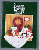White Birches Music Boxes In Motion 1990s Pattern Leaflet #181066