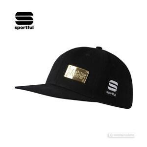 Sportful Peter Sagan SNAPCAP GOLD Podium Cap Casual Hat : BLACK