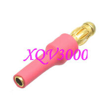 2pcs Great Planes Adapter 2MM Female to 3.5mm Male Bullet Connector