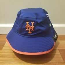 *New* New Era New York Mets Player Mlb 2018 Clubhouse Collection Bucket Hat