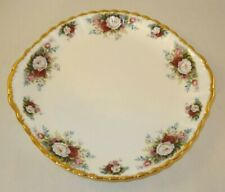 "Royal Albert Celebration 10 1/2"" Two Handled Cake Plate 1st Quality VGC"