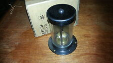 Heavy MOD Brass Cylinder Light Lamp Industrial Warehouse Steampunk Glass Boxed