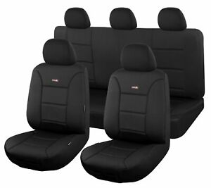 Sharkskin Ultimate Neoprene Seat Covers For Toyota Hilux 2005-2016 Dual Cab |...