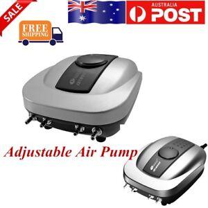 Resun 640L/H Air Pump Aquarium Quiet with 4 Outlets Low Noise For Fish Tank AU