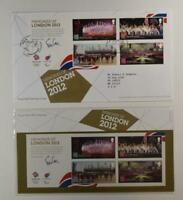 2012 ROYAL MAIL PRESENTATION FOLDER OLYMPICS AND PARALYMPICS  & FDC LOT 407*