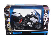 BMW R 1200 RT CALIFORNIA HIGHWAY PATROL CHP POLICE MOTORCYCLE 1/18 MAISTO 32306