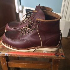 Red Wings Classic Moc Toe Boots 8865 8UK/9US/ EUR42 Oxblood Mesa used