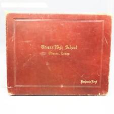 Vintage Odessa Texas High School Diploma 1961