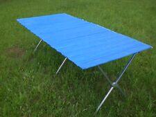 Tavolo pieghevole tavolo per mercato per mercatino delle pulci 2 m x 1,2 m NUOVO