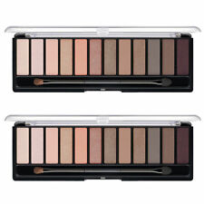 Pack of (2) New Rimmel Magnif'eyes Eye Palette London Nudes Calling 0.50 Ounces