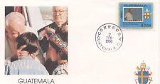 ENVELOPPE VISITE DU PAPE JEAN PAUL II / GUATEMALA / 1996