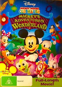 130🆕sealed-MICKEY MOUSE -ADVENTURES IN WONDERLAND R4 DVD