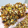 180g Natural Beeswax Raw Rough Ore Crushed Gravel Reiki Stone Chunk Degaussing