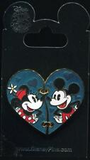 Minnie and Mickey 2 Two Piece Heart Valentine's Day Disney Pin 112599