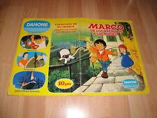 MARCO DE LOS APENINOS A LOS ANDES 1ª PARTE ALBUM DANONE CON 84 CROMOS COMPLETO