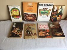 Vintage Paperback Cookbook Lot 8 Spanish Cookbook Fondue Cooking With Egg