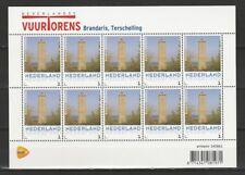 Nederland NVPH 3013 Vel Vuurtorens Lighthouse Brandaris 2013 Postfris