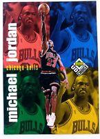 1998-99 Upper Deck UD Choice Michael Jordan #199, Checklist, Chicago Bulls, HOF