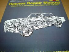Haynes MERCEDES W113 SL CLASS 280 280SL COUPE ROADSTER Owners Manual Handbook
