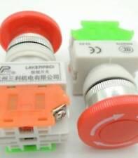 LAY37-11ZS (Y090) stopself-locking bottone Pulsanteand urgent stop Pulsante 1NO