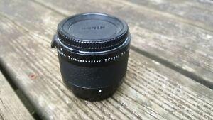 Nikon TC-201 2X Teleconverter. Used. Excellent condition.