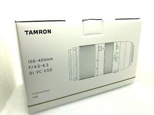 New Tamron 100-400mm f4.5-6.3 Di VC USD Lens - Nikon F or Canon EF (A035)