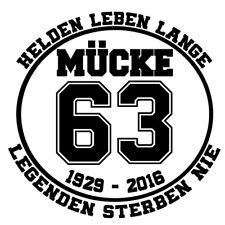 Bud Jumbo Mücke 63 Bulldozer Autoaufkleber / Auto / Tankdeckel Decal Sticker