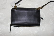 Fossil  leather   womens   Brlack  Shoulder  Bag