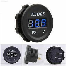 12V DC Camper Blue LED Display Voltmeter Volt Socket t4 t5 t6 day van vw vito