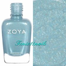 ZOYA ZP891 AMIRA soft blue sparkle nail polish lacquer ~ CHARMING Collection NEW