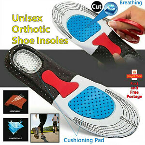 Orthotic Shoe Insoles for Arch Support Plantar Fasciitis Flat Feet Heel Pain
