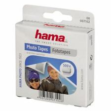HAMA PHOTO TAPES BOX 500 DOUBLE SIDED SELF ADHESIVE TABS 7102
