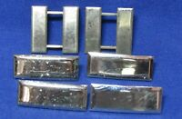 Vietnam War Sterling Army Captain & 1st Lt. Rank Insignia Sets Lot Of 6 by Meyer