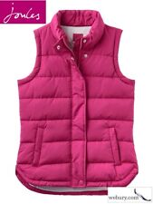 Joules 2017 Eastleigh Padded Womens Jacket Gilet - Ruby All Sizes 10 Reg