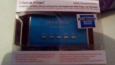 MusicMan Technaxx Midi Soundstation/Stereo Lautsprecher m. integriertem Akku NEU