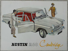 Austin A60 Cambrige brochure 8 page